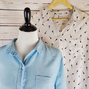 Old Navy ~ 2 Button Downs